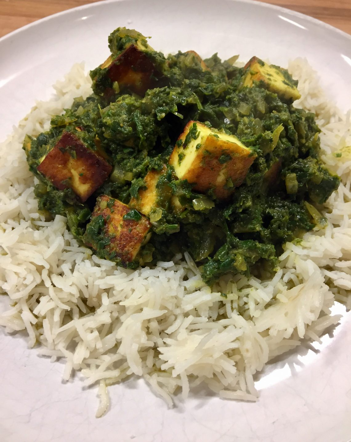 You are currently viewing Spinach and Paneer Curry