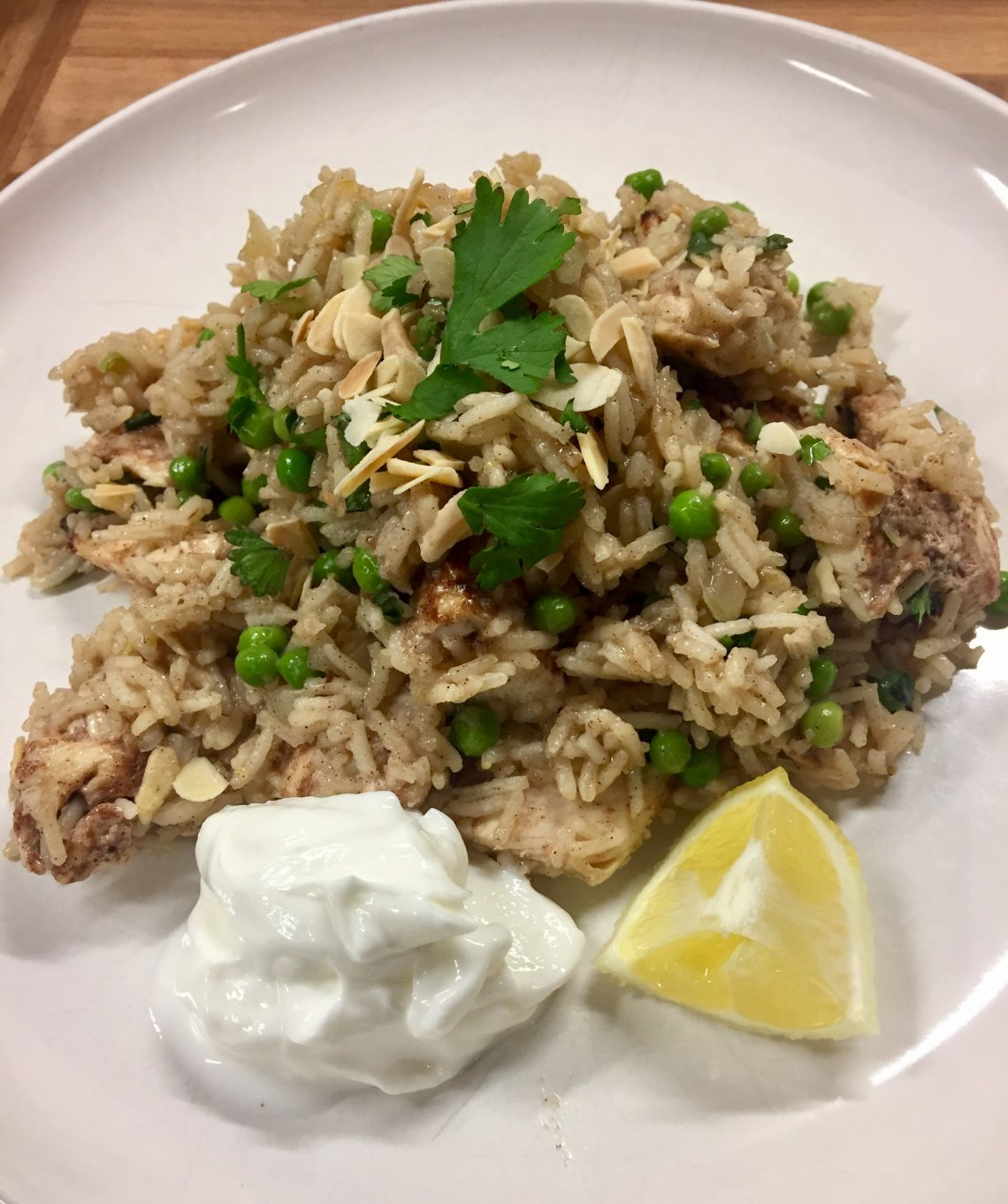 Cinnamon and Lemon Chicken Pilaf