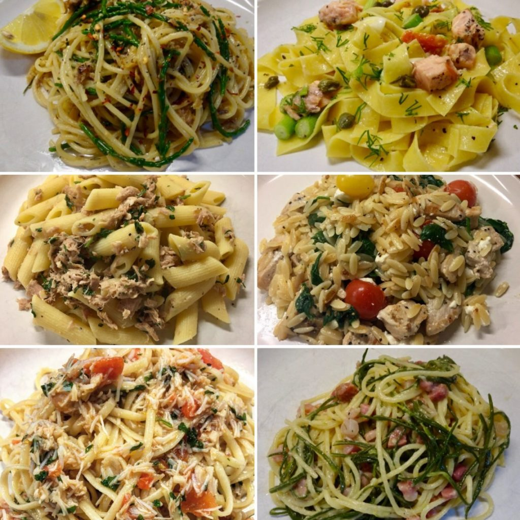 6 Quick Pasta Recipe Ideas