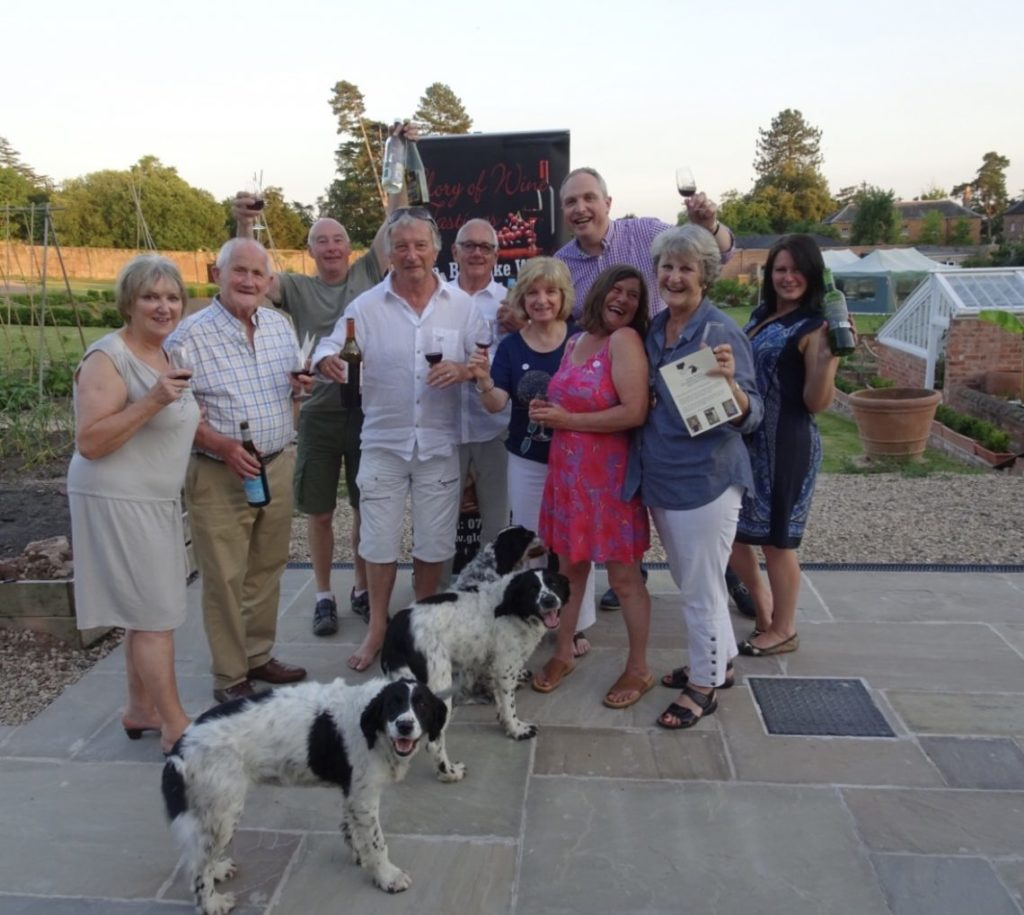 Father's Day Wine Tasting Evening Success with Glory of Wine