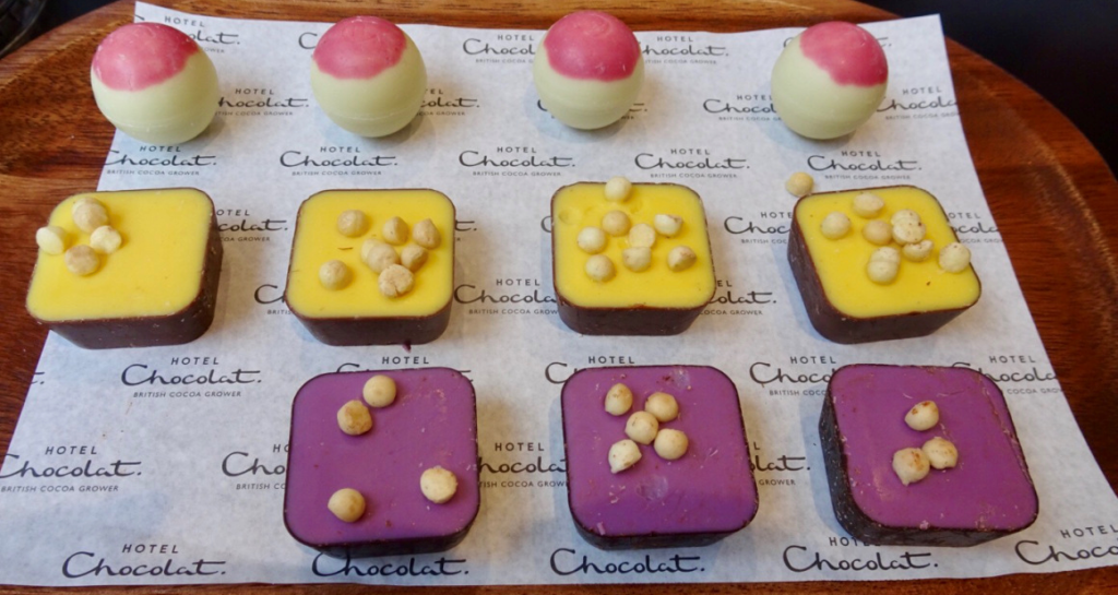 Hotel Chocolat, Worcester: 'The Spirit of Summer' Chocolate Tasting