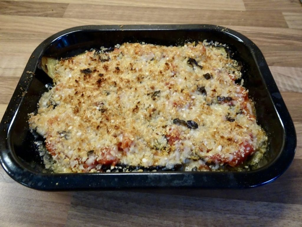 Aubergine Gratin with Tomato Sauce | Summer Recipe