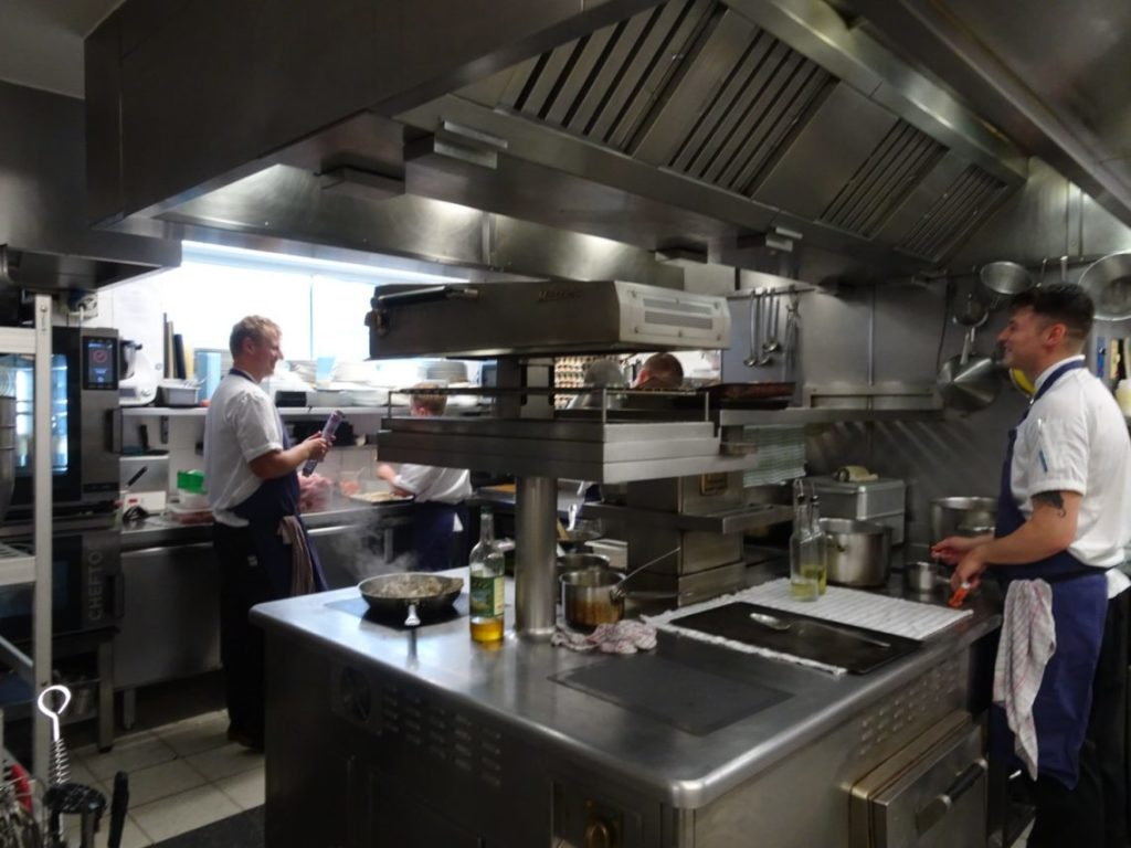 In the Kitchen at Le Champignon Sauvage | Cheltenham
