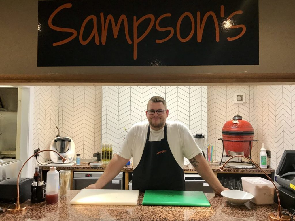 Launch of New Burger Restaurant Sampson's at The Conservatory | Worcester