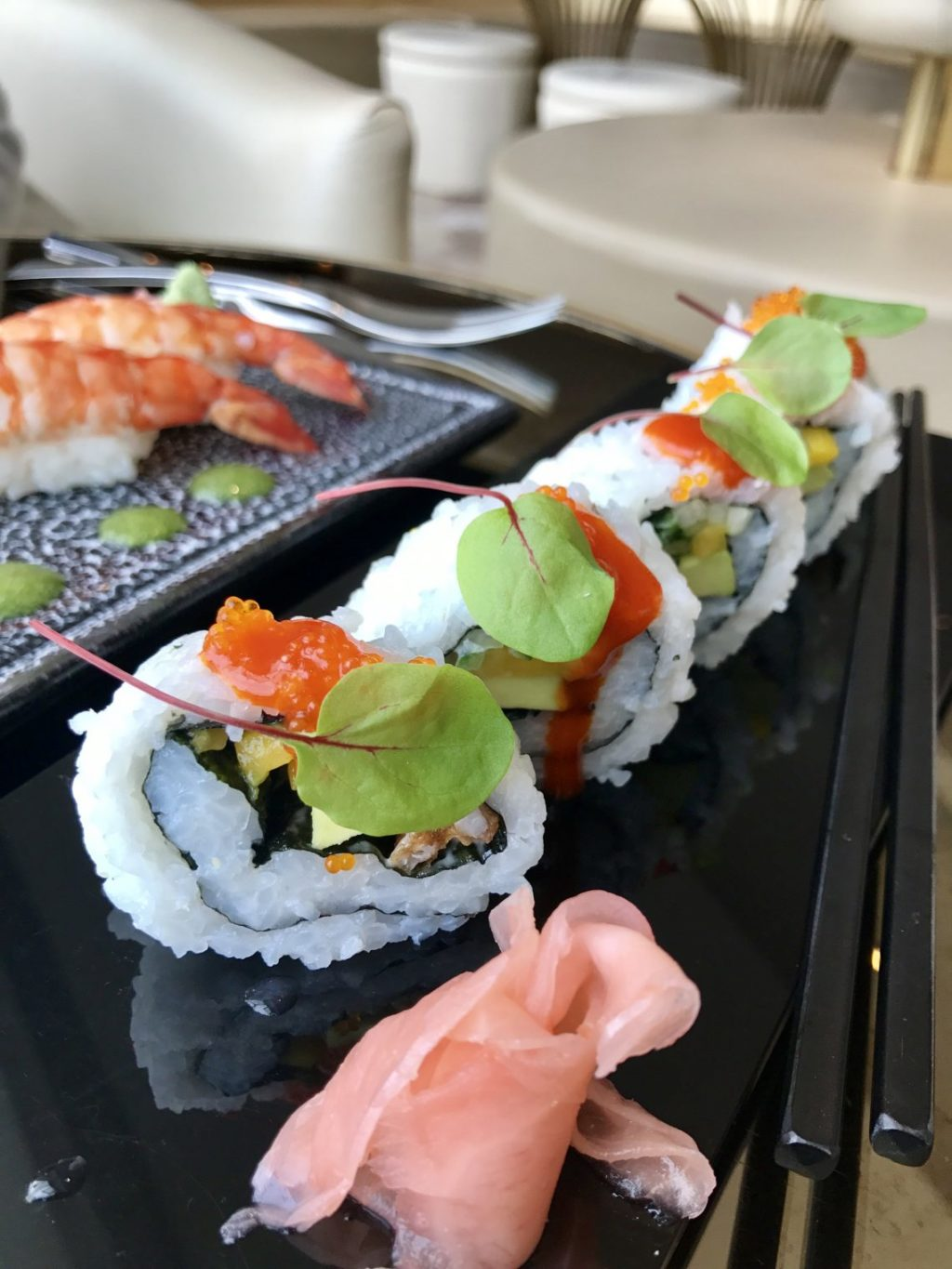 Sushi Lunch At The Sky Bar Resorts World Birmingham