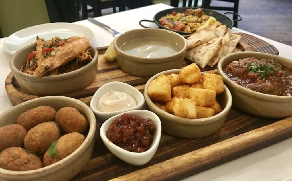 5 Tapas for £25 Lunch at The Olive Branch Mediterranean Restaurant | Worcester