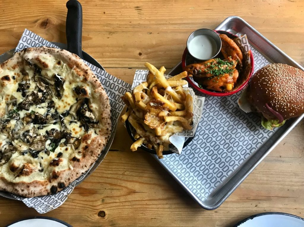Lusting Over Pizza and Burgers at The Bottle of Sauce | Cheltenham