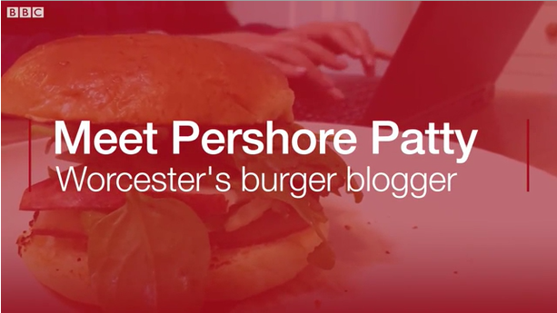 Pershore Patty Talks Burgers to BBC Midlands | Video