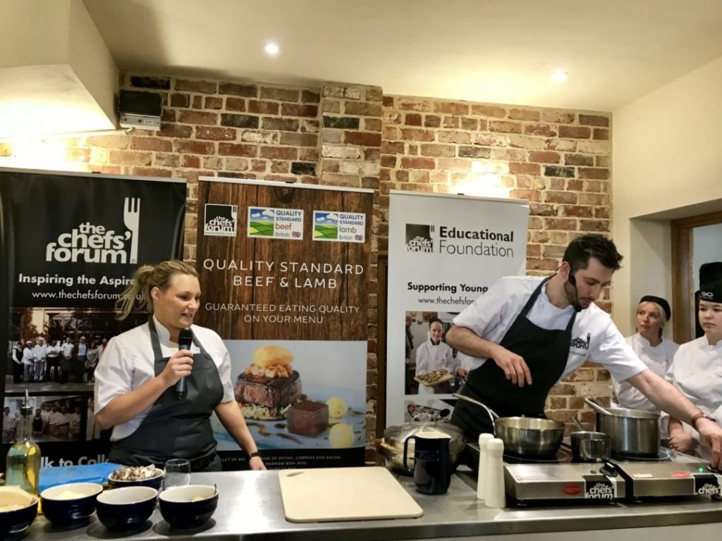 Read more about the article A Forage at The Manor: The Chefs' Forum Comes to Eckington Manor | Worcestershire