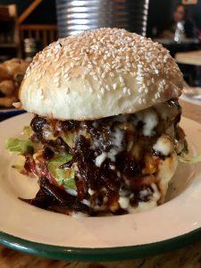 Banging Barbeque Burgers at Asado | Bristol