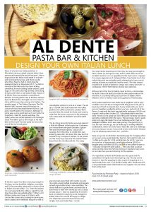 Pershore Patty: Al Dente Worcester Review | Featured in County Lifestyle and Leisure Magazine