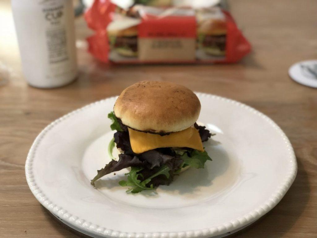 Sizzling Wasabi Burgers | Recipe