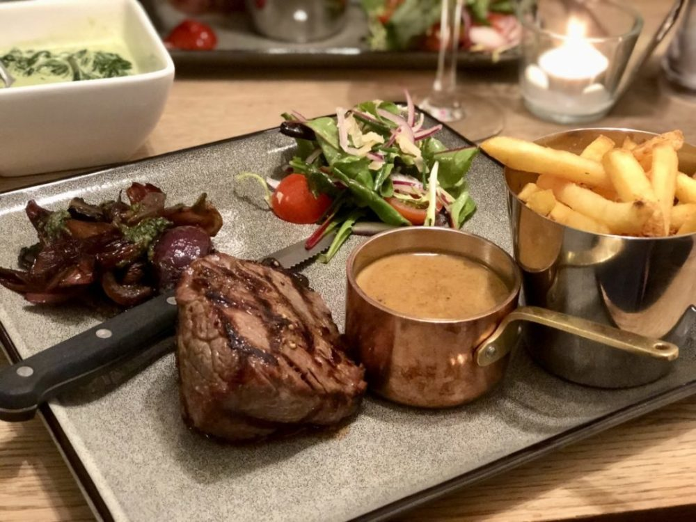 Steak Night Date Night at Ounce Bar & Kitchen | Worcester