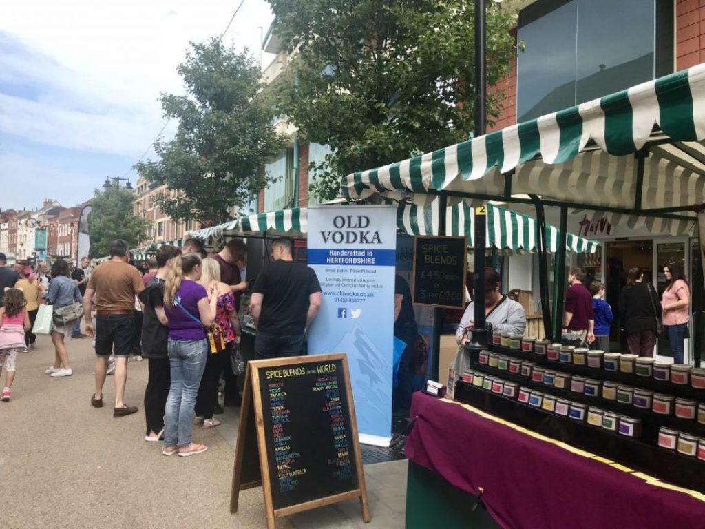 Read more about the article Browsing the Worcester Food Festival 2018 | Worcestershire Food and Drink