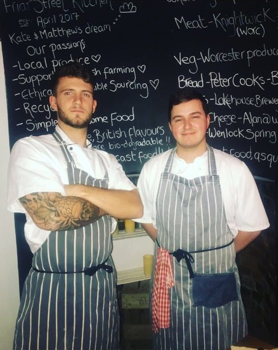 Pershore Patty Meets Chef Matthew Sanderson – Friar Street Kitchen, Worcester