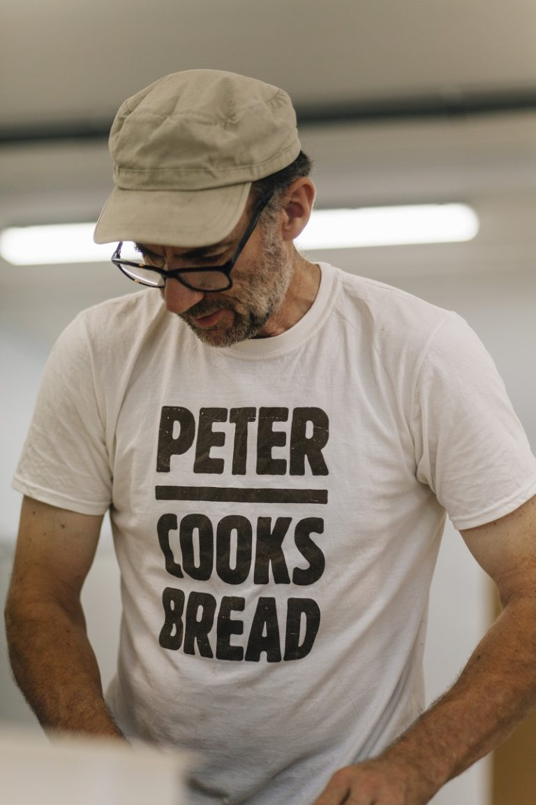 Peter Cook at Peter Cooks Bread