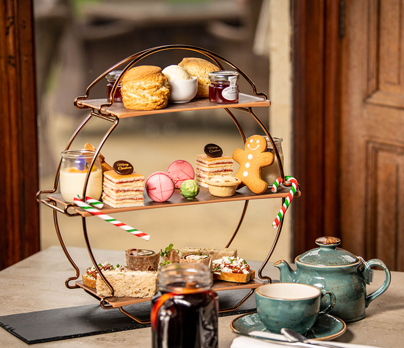 11 Delicious Festive Afternoon Teas to Try in Worcestershire this Christmas