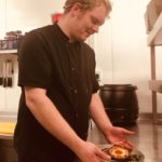 Pershore Patty Meets Richard Parker – Chef at The Fox & Hounds Lulsley
