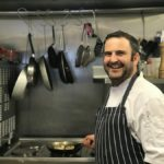 Pershore Patty Meets Brett Golding – Head Chef at The Glasshouse Cafe at Holloways